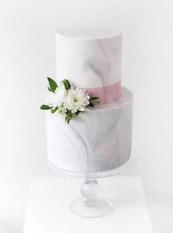 27 Chic And Luxurious Marble Wedding Cakes Weddingomania