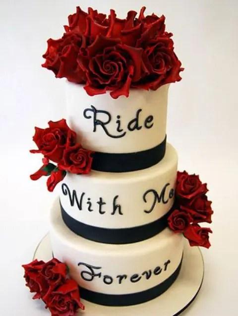 Two Layer Red Velvet Cake