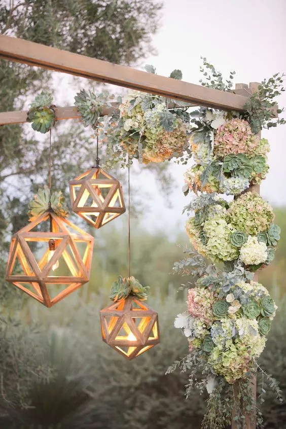 35 Trendy Geometric Wedding D 233 Cor Ideas Weddingomania
