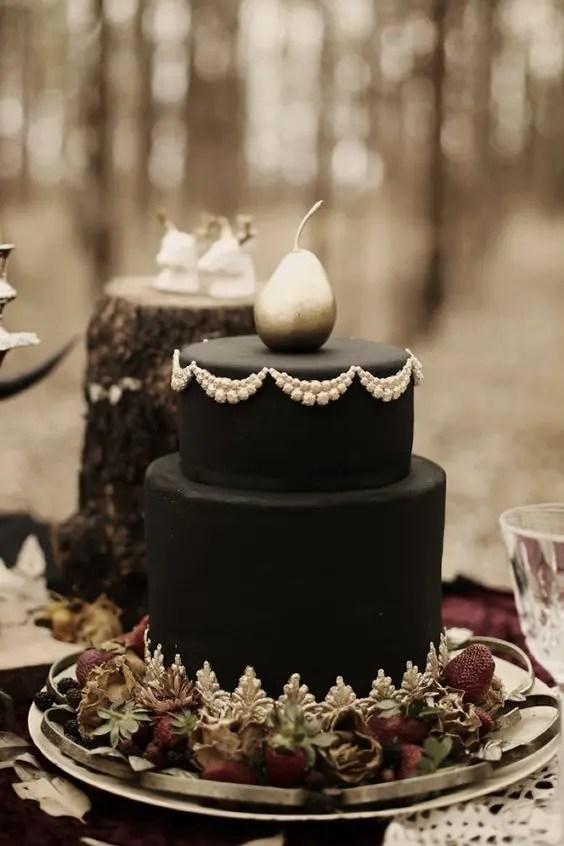 Fall Wedding Cakes
