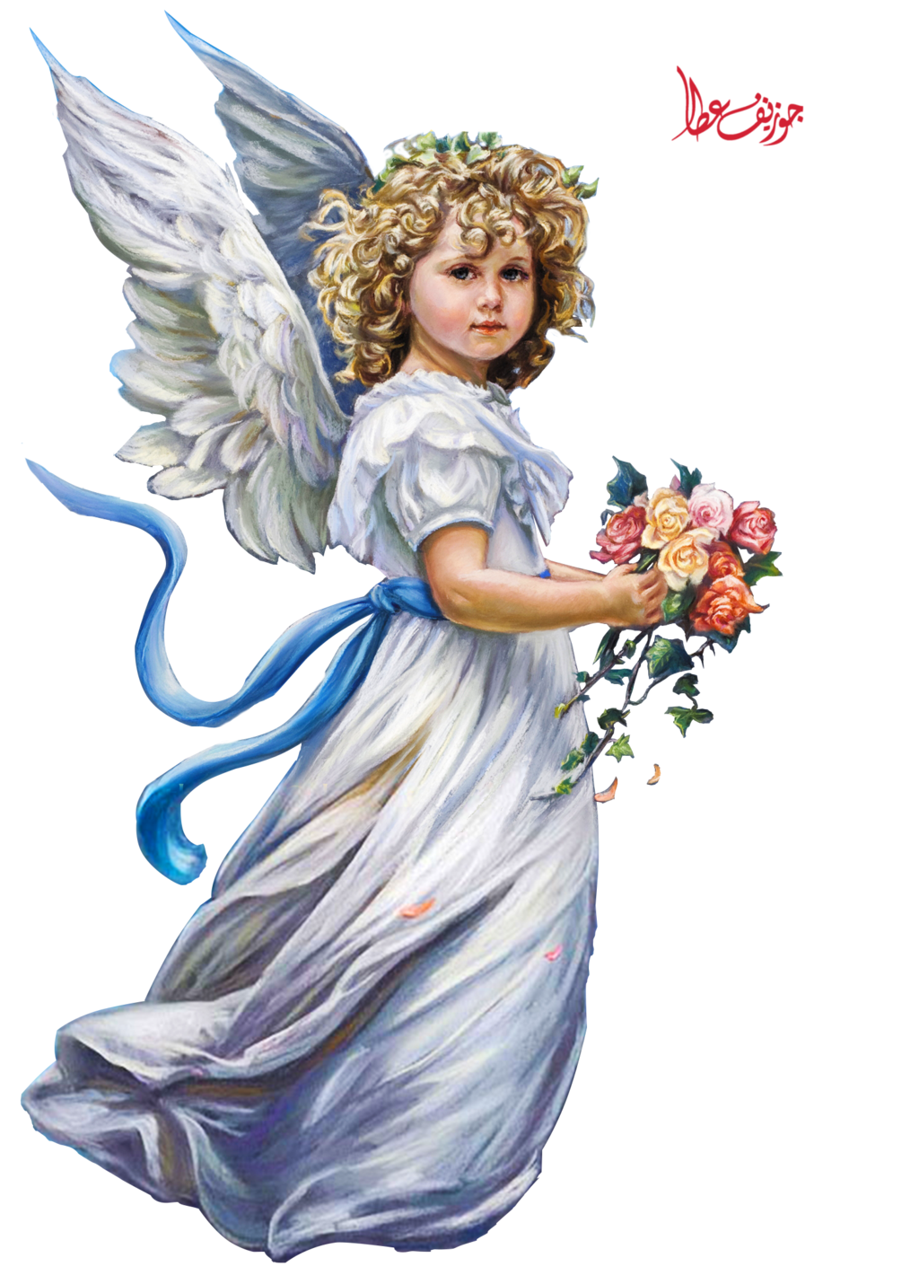 angel clipart free - 577×800