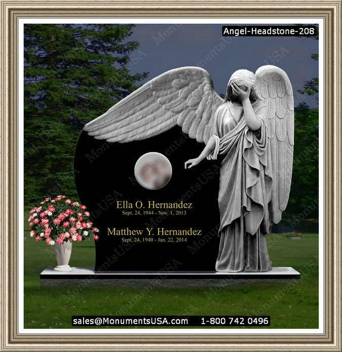 angel clipart for headstones - 675×695