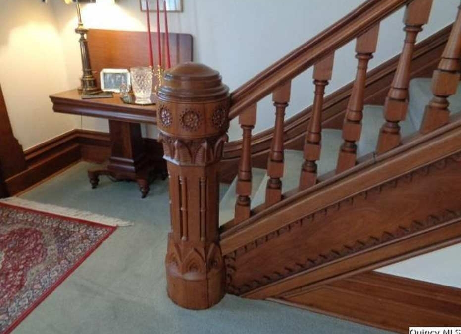 The Changing Look Of The Newel Post Part One 1850 – 1939 | Handrail To Newel Post | Fasten | Baluster | White Oak | Glass Balustrade | Landing