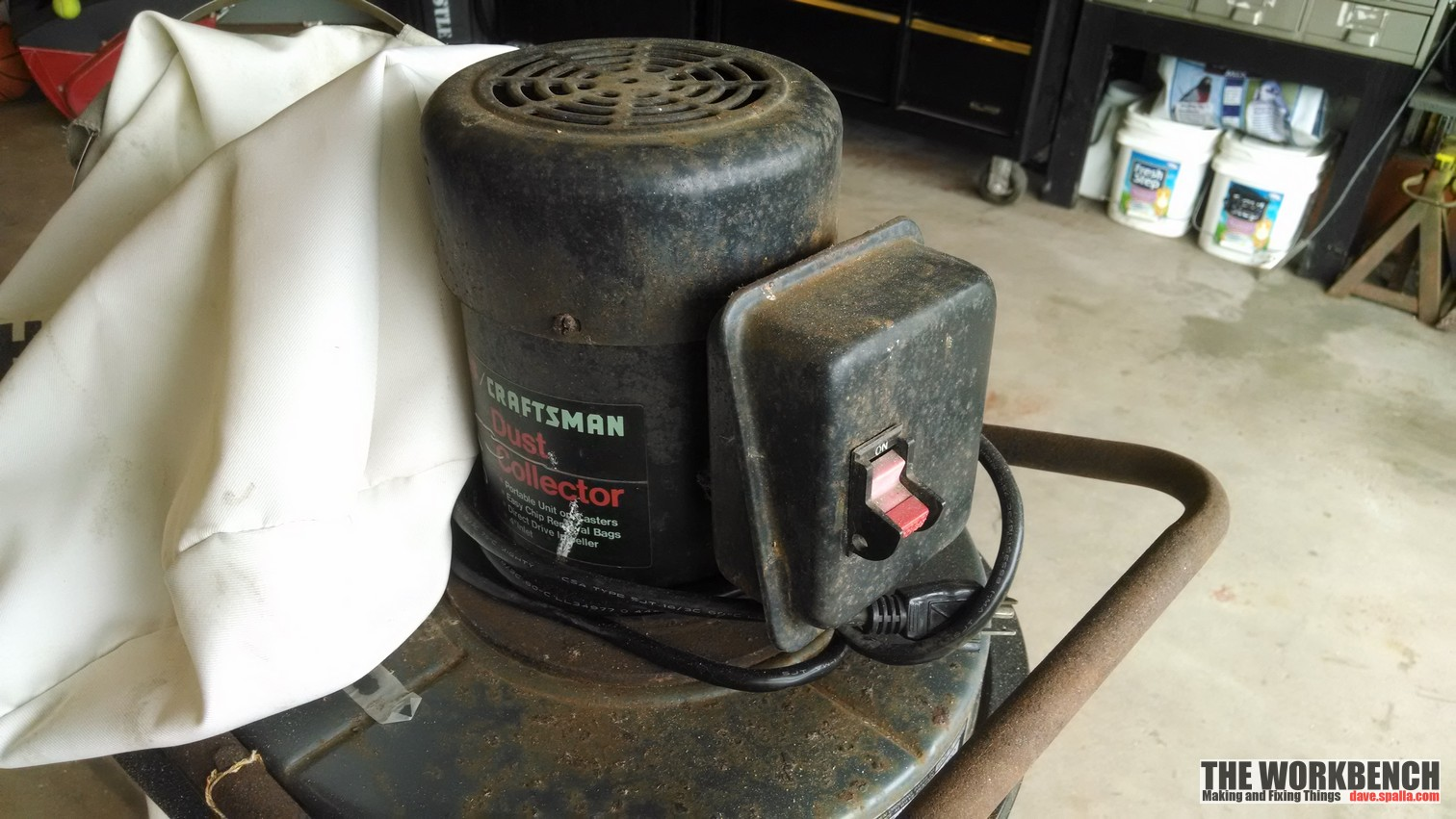 Sears Craftsman Dust Collector Refurb 113 299780 The