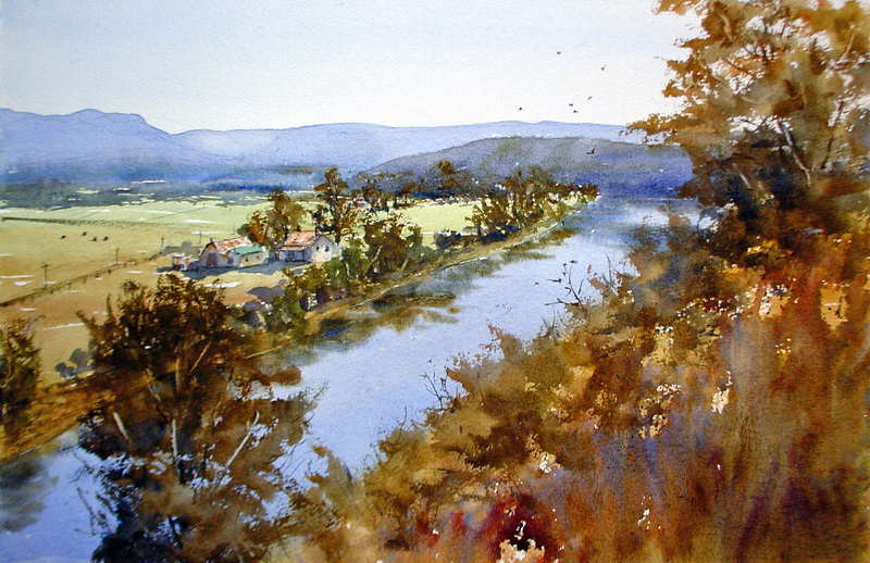 Free watercolor painting landscape demonstrations: How to ...