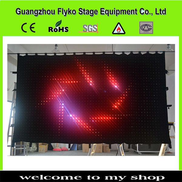 a8f8607c8 ツ)_/¯P10 2 x 3 m 600 PC controle de lâmpadas led cortina de vídeo ...