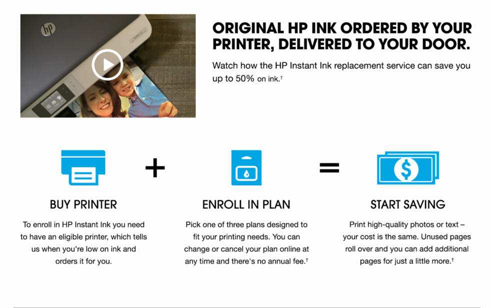 Hp Instant Ink Hsn