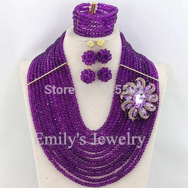 d2589387d59f0 الزي الافريقي مجموعات المجوهرات طبقات 12 النيجيري أزياء الزفاف مجموعة  مجوهرات الخرز الأفريقية ajs746 الشحن مجانا