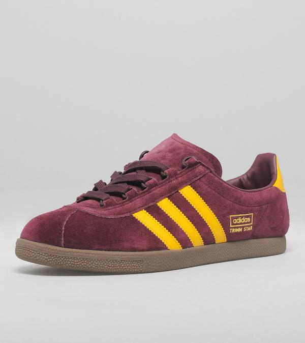 Laces Adidas Shoes Maroon Gold