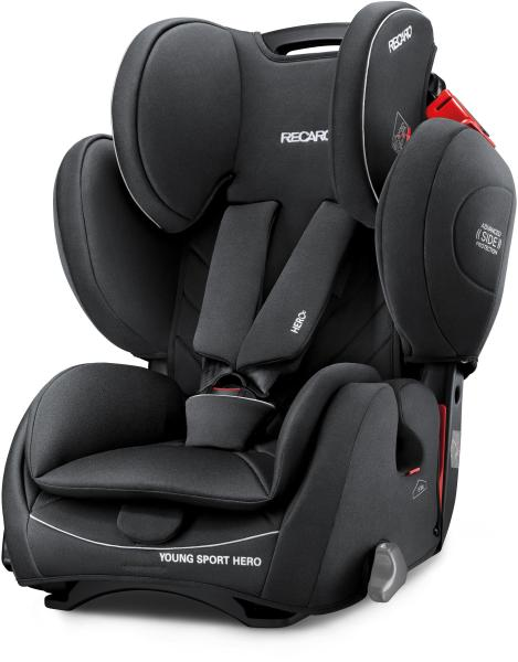 Recaro Young Sport Hero Child Car Seat   Performance Black Recaro Young Sport Hero Child Car Seat