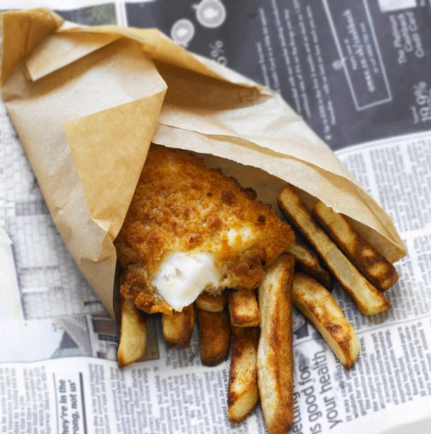 Fish And Chips Newspaper