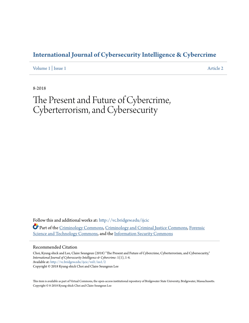 Cyber Security Publication