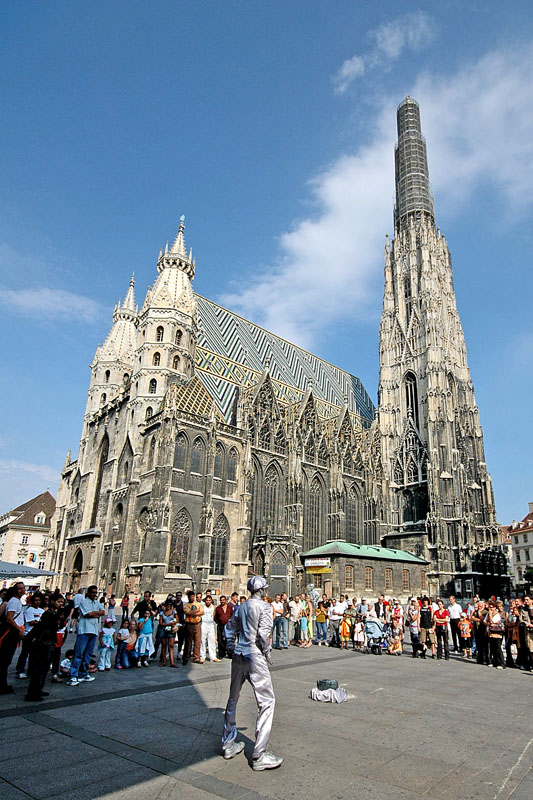 St Stephens Cathedral A Photo From Vienna East Trekearth