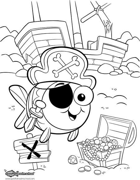goldfish coloring page # 27
