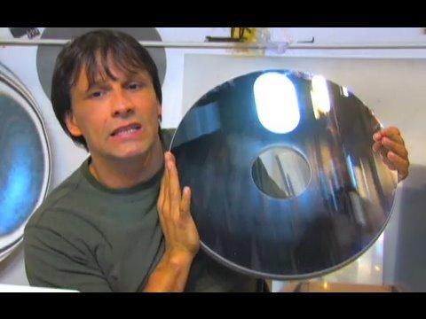Fresnel Lens And Parabolic Mirror Aperture Solar Fresnel