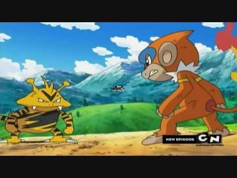 Pokemon Monferno vs Electabuzz Captain Style! - YouTube