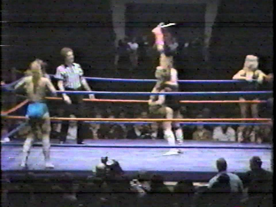 Women's Tag Team Match (AWA All-Star Wrestling) - YouTube