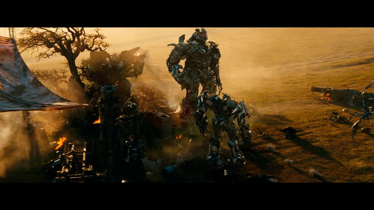 Transformers : Dark of the Moon Megatron in Africa ...