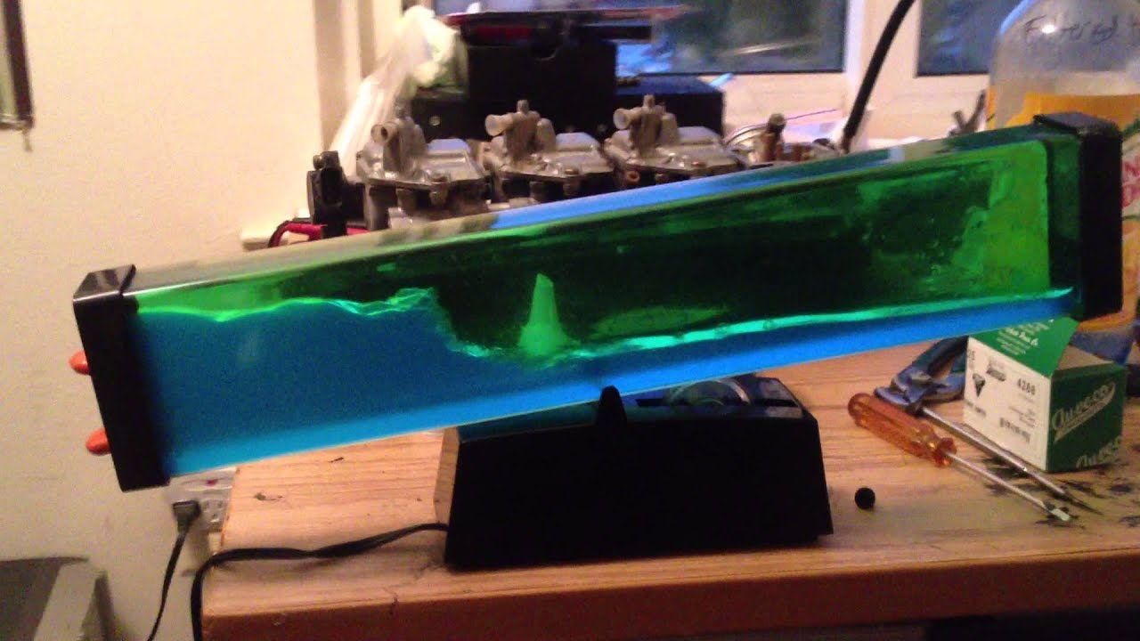 Dual Color Uv Reactive Lava Wave Machine For Sale On Ebay