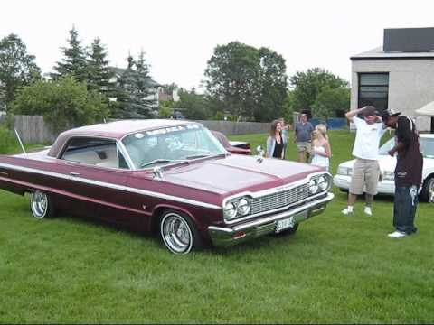 crazy car with hydraulics at 2010 summer shocker car show ...