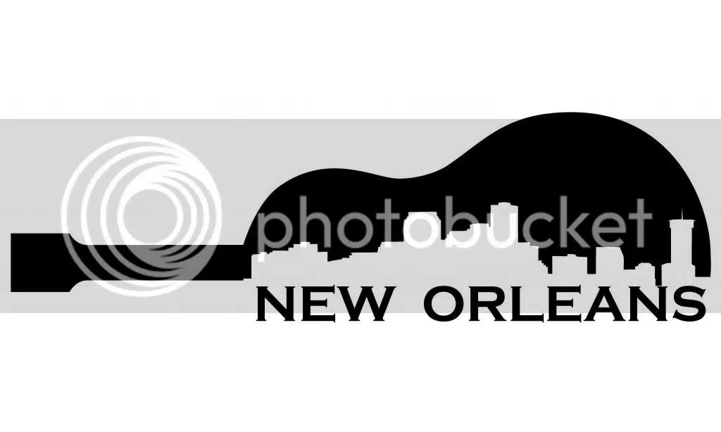 Horizonte De La Ciudad Nueva Orleans Vinilo Adhesivo ...
