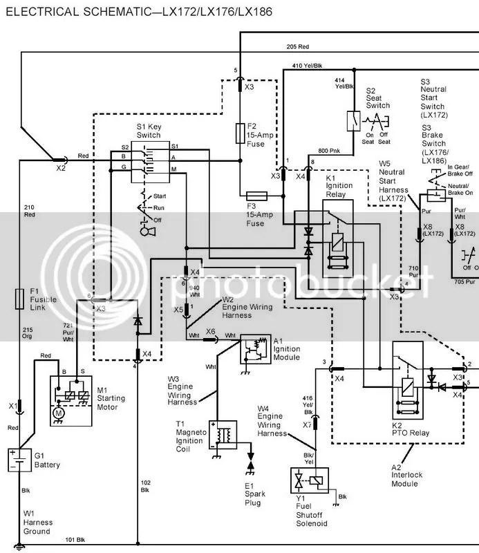 John Deere X300 Wiring Schematic