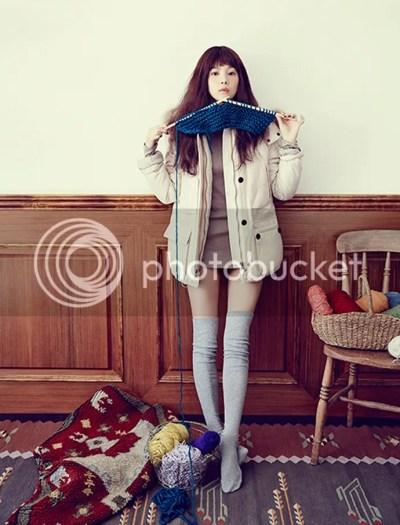 Yoon Seung Ah For Thursday Island's Winter 2013 Ad ...