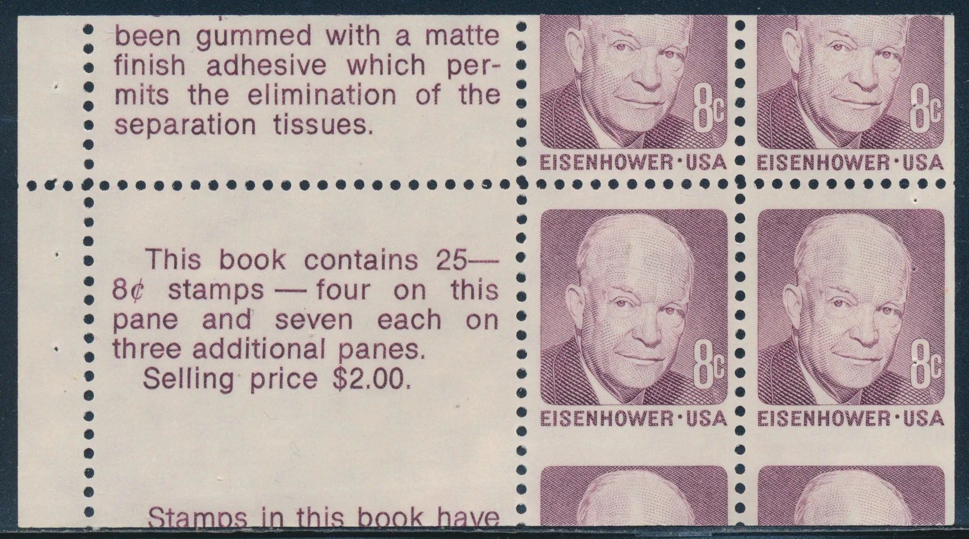 Eisenhower Stamp Errors