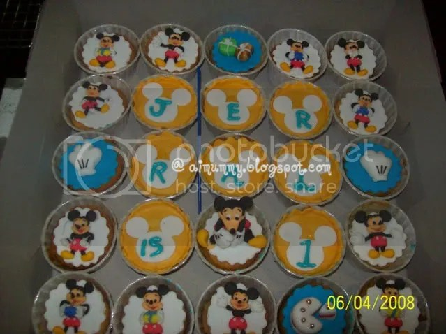Aimummy Mickey Mouse Cuppies