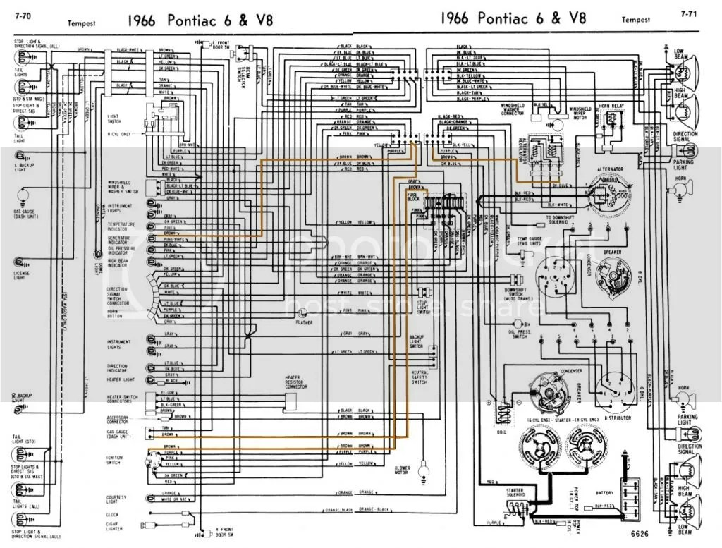 65 Gto Dash Wiring Diagram Trusted 66 Pontiac Info U2022 1969