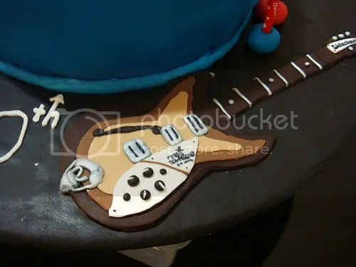 Lydia Bakes The Who 60th Cake