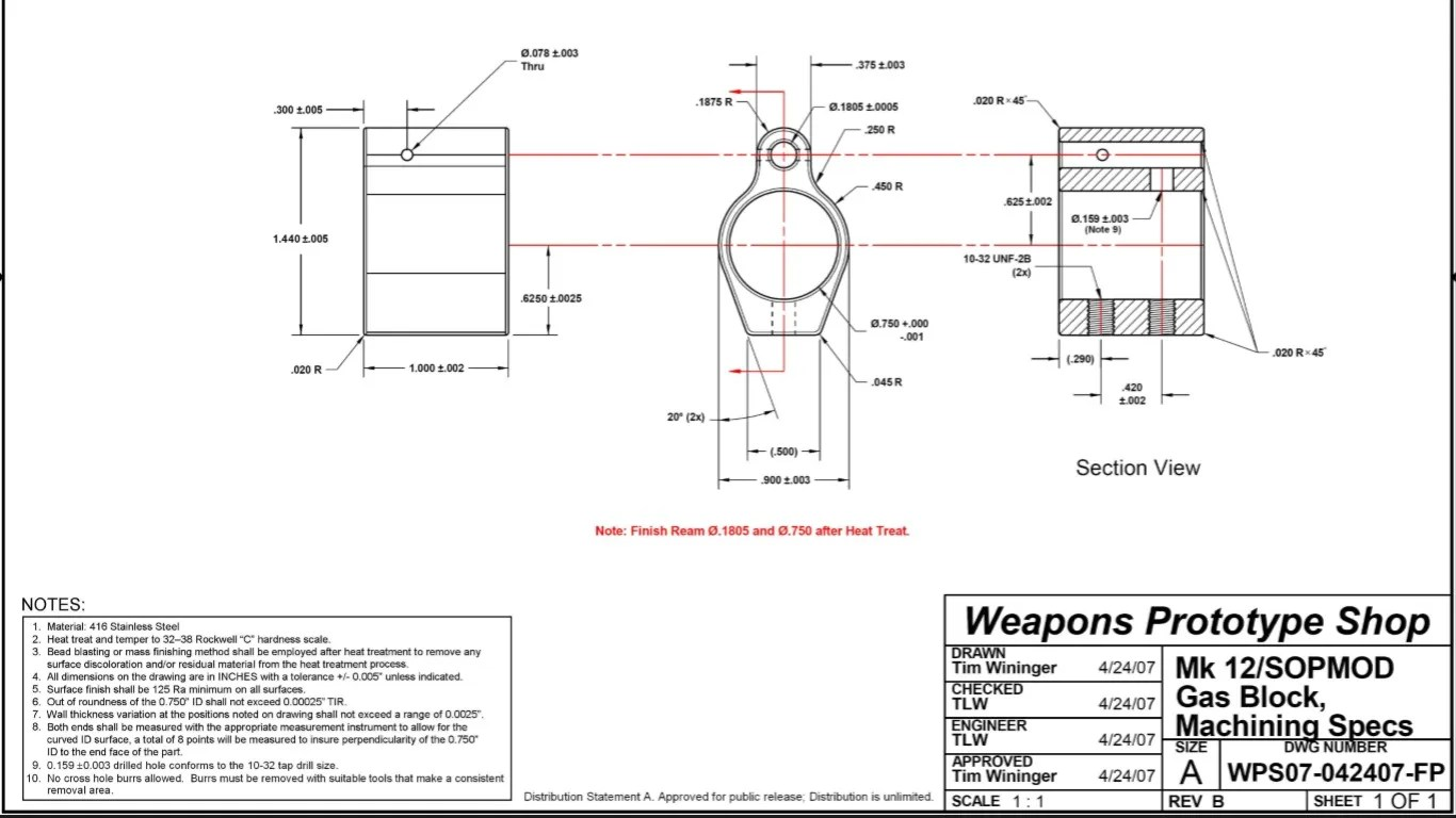 Ar 15 Muzzle Brake Blueprints