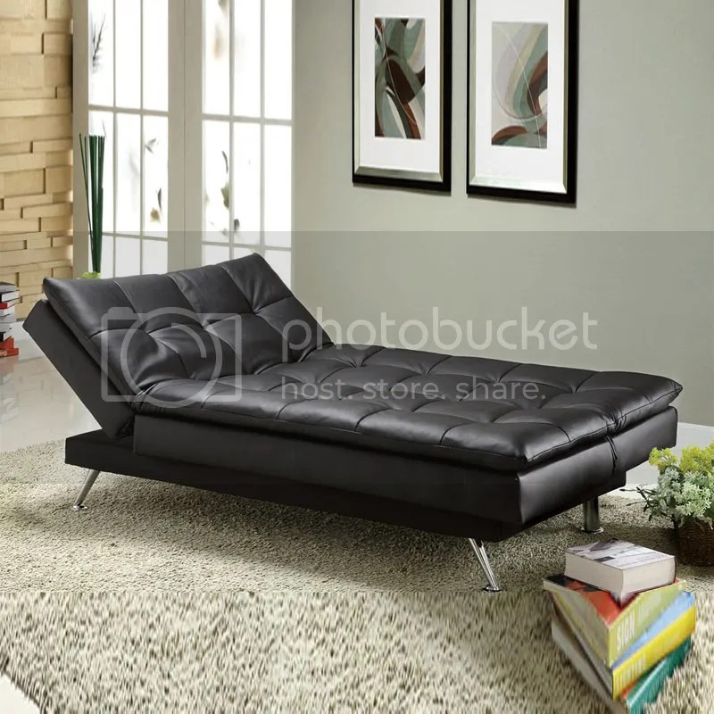 Full Size Leather Sleeper Sofa