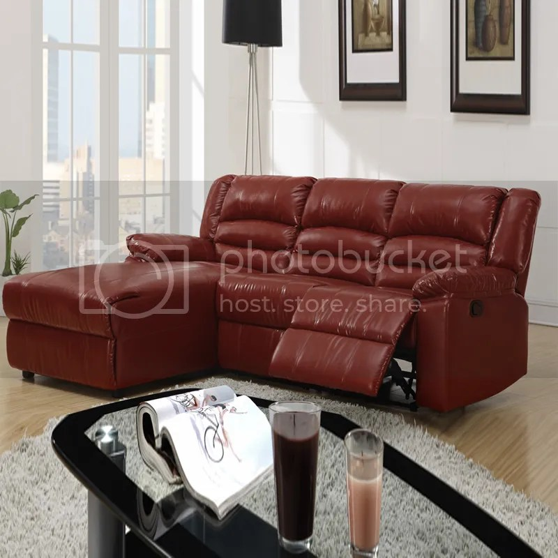 Small Sectional Chaise And Recliner