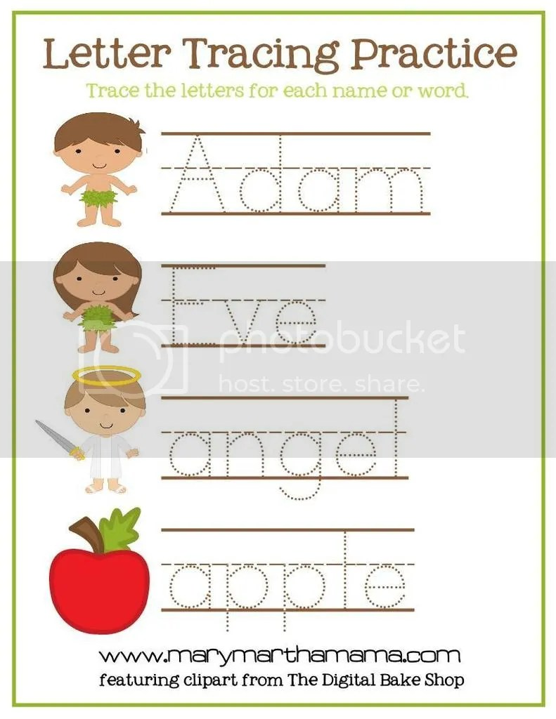 Mary And Martha Word Puzzle