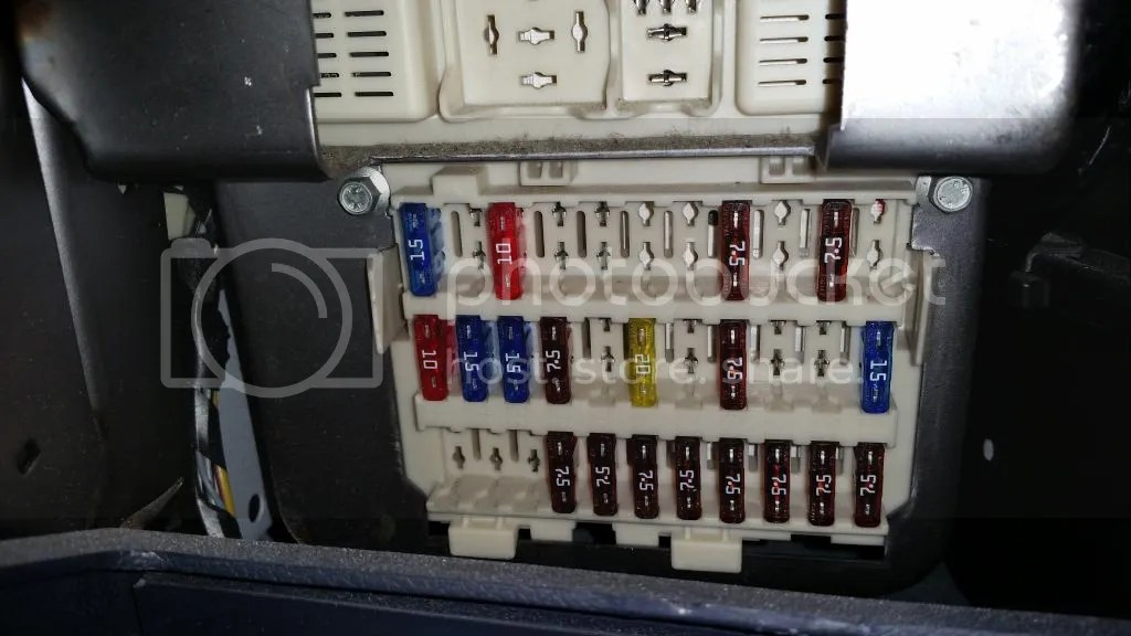 Freightliner Box 1999 Fuse
