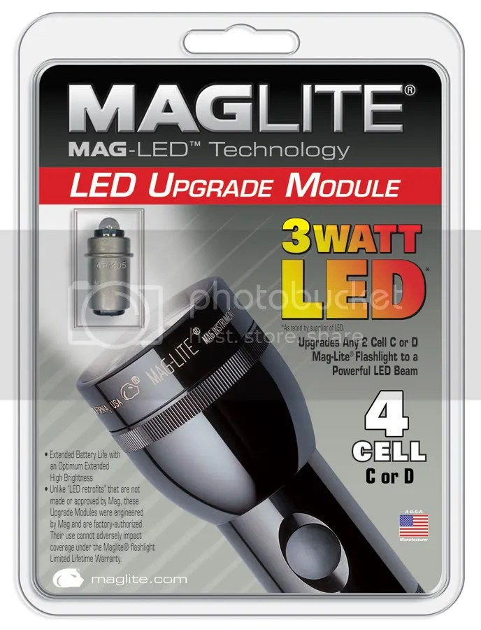 Mag Light Led Conversion