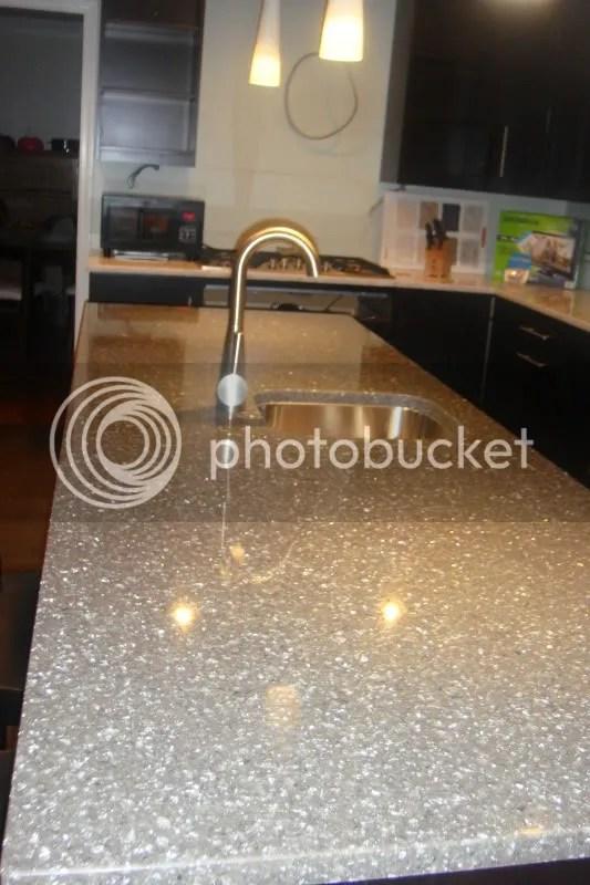 Sparkly Kitchen Countertops