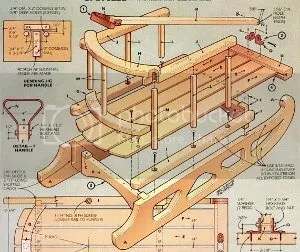 9 Free Snow Sled Plans  It s All Downhill From Here    The Tool Crib the Winter Wonderland Christmas Sled