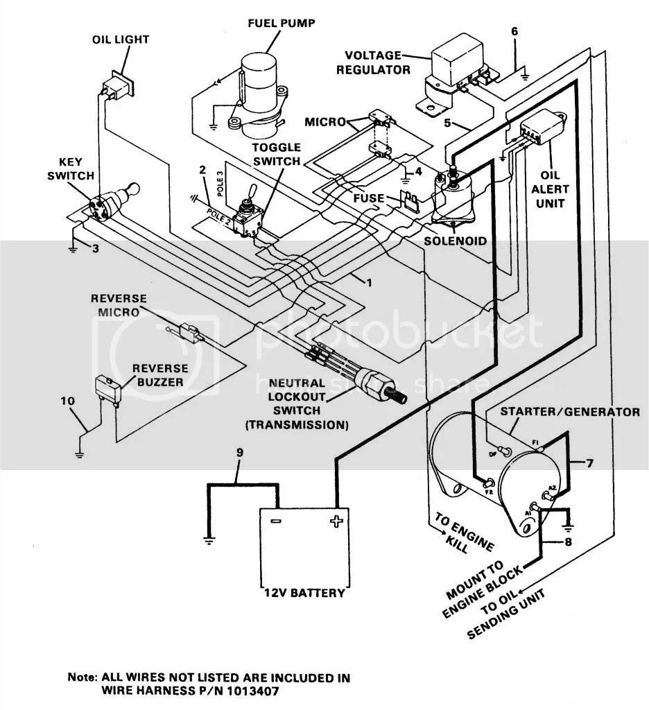 Carryall 1 2007 Club Car Wiring Diagram