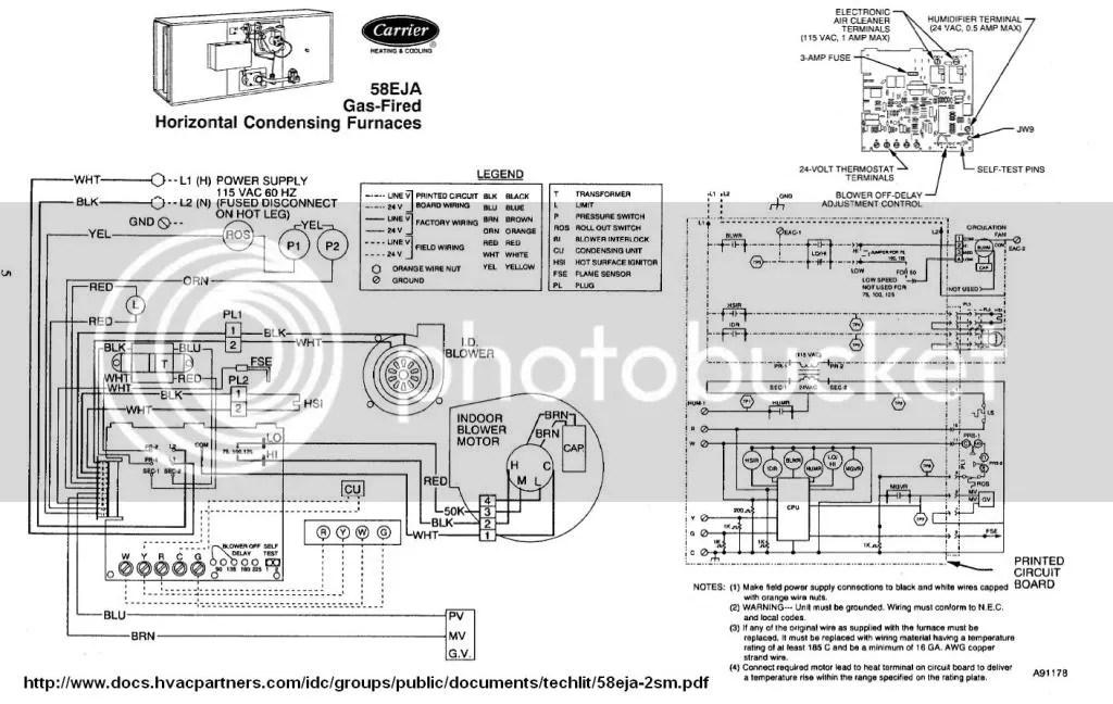 Combustion Furnace Motor Wiring Diagram