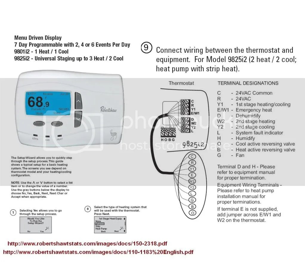 Maple Chase Thermostat Wiring Diagram | Wiring Liry on