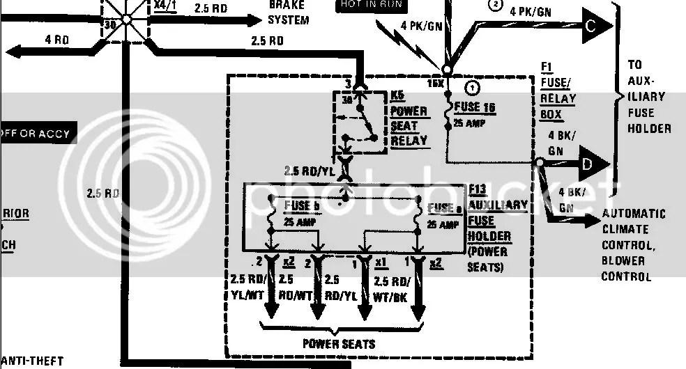 89 Mercedes 300e Fuel Pump Location