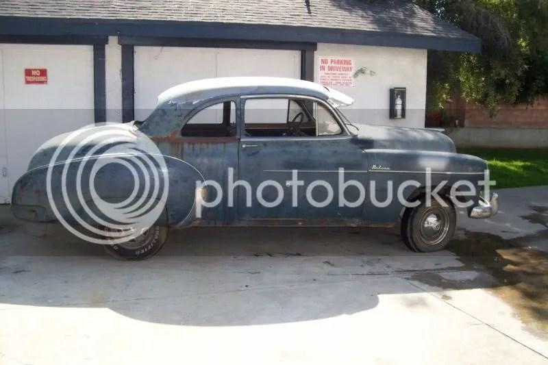 Chevy 2 Door Sports Car