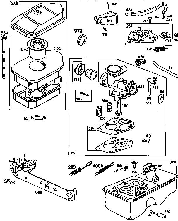 Mtd Mower Parts Diagram
