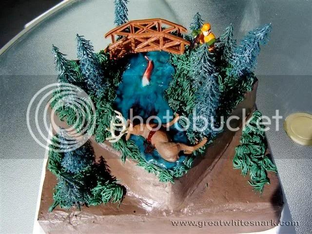 Dead Deer Birthday Cake Ideas