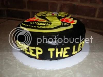 Sweep The Leg The Karate Kid Quot Cobra Kai Quot Cake Geeky Cake