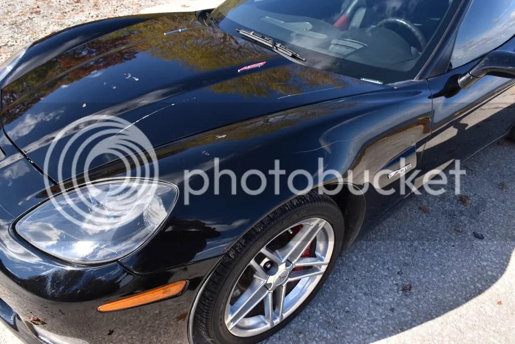 F1 C6 Corvette Rear Spoiler