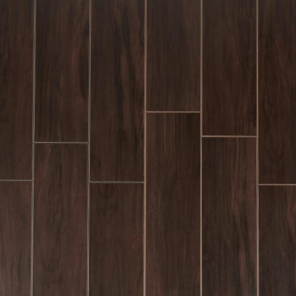 Wood Look Tile   Floor   Decor Stockbridge Espresso Wood Plank Porcelain Tile