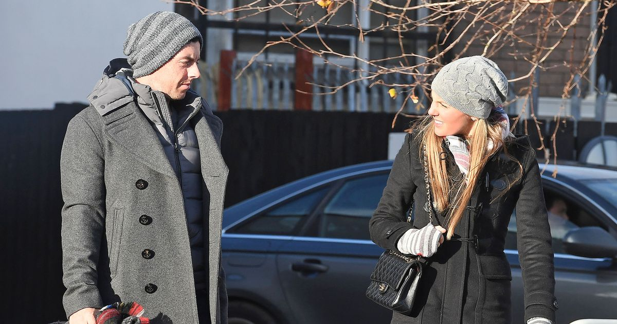 Rory Mcilroy And Erica Stoll Hit Holywood For Coffee And